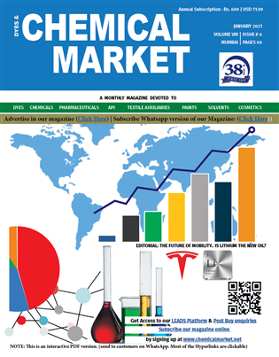 Chemical Market Magazine Issue Jan 2021